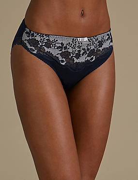 Artisan Lace High Leg Knickers