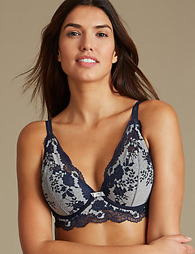 Artisan Lace Set with Plunge A-DD