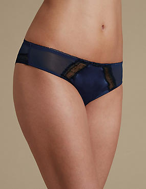 Satin Brazilian Knickers