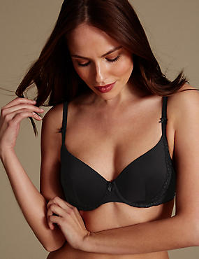2 Pack Smoothing Padded Plunge Bra A-E