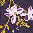 Lace Floral Print Camisole Set, PURPLE MIX, swatch
