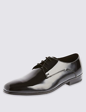Lace Up Pointed Derby Shoes