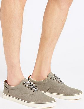 Lace-up Pump Shoes, DARK STONE, catlanding