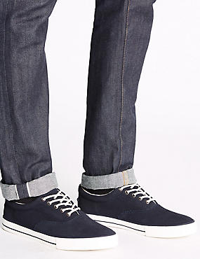 Suede Oxford Lace-up Shoes, NAVY, catlanding