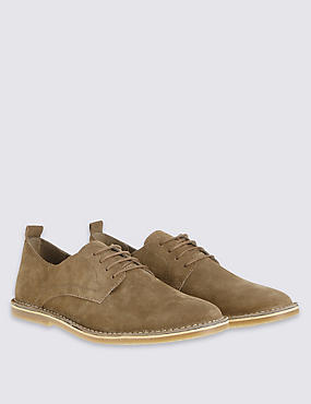 Suede Desert Lace-up Shoes