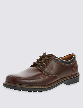 Lace-Up Heavyweight Apron Shoes