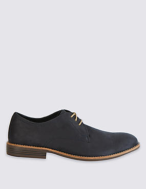 Suedette Lace-up Shoes