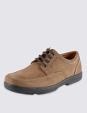 Airflex™ Leather Extra Wide Fit Lace Up Shoes