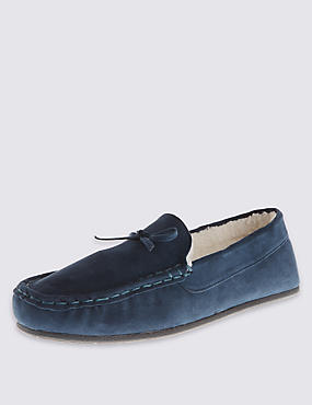 Suede Tassel Loafers with Freshfeet™
