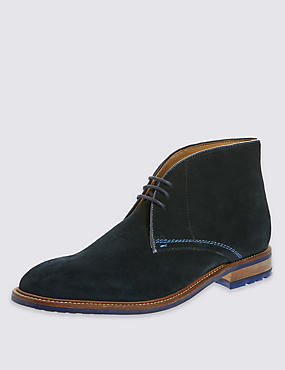 3 Eyelet Lace-Up Chukka Boots