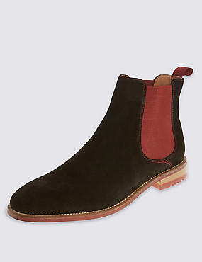 Suede Iconic Chelsea Boots
