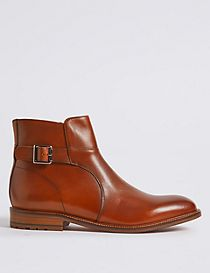 Leather Jodphur Boots