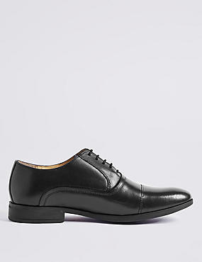 Big & Tall Leather Lace-up Shoes