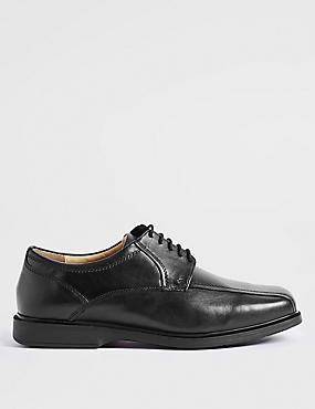Extra Wide Leather Shoes with Freshfeet™