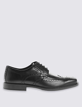 Leather Brogue Shoes