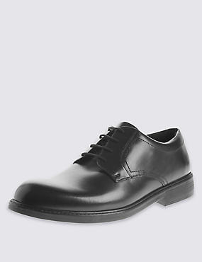 Extra Wide Fit Leather Lace Up Shoes