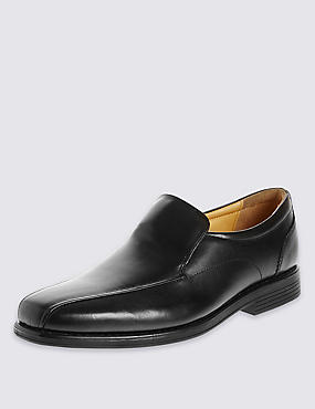 Airflex™ Leather Loafers with Silver Technology
