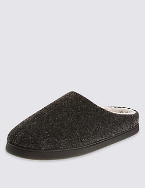 Thinsulate™ Felt Mule Slippers