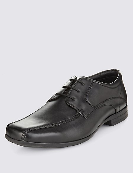 Big & Tall Stitch Detailed Lace-up Shoes