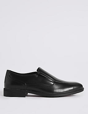 Big & Tall Tramline Slip-on Shoes
