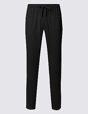 Modal Silk Slim Fit Pyjama Bottoms