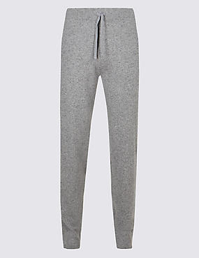 Pure Cashmere Slim Fit Joggers