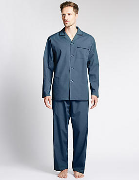 Easy Care Checked Pyjamas