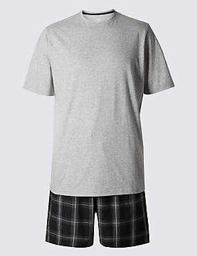 Pure Cotton Stay Soft T-Shirt & Shorts Set