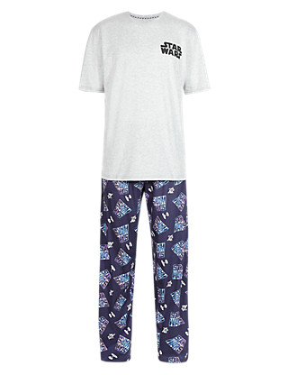 Pure Cotton Star Wars™ T-Shirt & Trousers Set Clothing