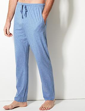 2 Pack Jersey Long Pant Pyjama Bottoms, NAVY/BLUE, catlanding