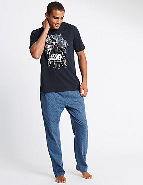 Star Wars™ Pure Cotton T-Shirt & Trousers Set