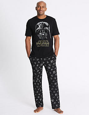 Star Wars™ Pure Cotton Printed Pyjama Set
