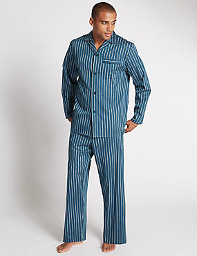 Pure Cotton Bold Striped Pyjamas