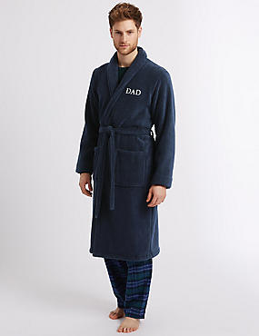 Cotton Rich Dad Dressing Gown