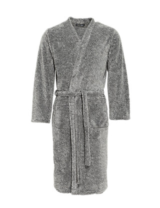 Thermal Fleece Dressing Gown Clothing