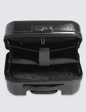 Cabin 2 Wheel Hard Mobile Office Suitcase with Security Zip