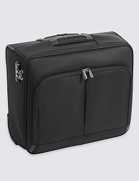 Cabin 2 Wheel Soft Mobile Office Suitcase with Security Zip