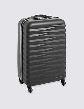Medium 4 Wheel Essentials Hard Suitcase