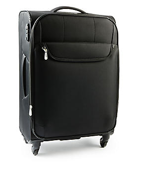 Super Lightweight 4 Wheel Large Suitcase