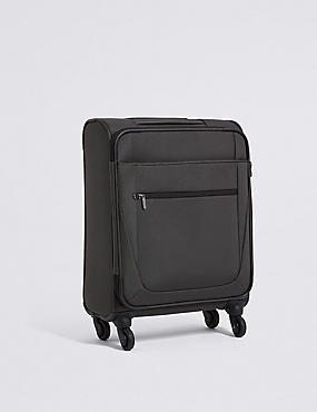 Cabin 4 Wheel Soft Suitcase with Security Zip