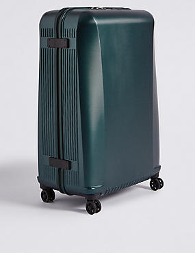 Large 4 Wheel Lightweight Hard Suitcase