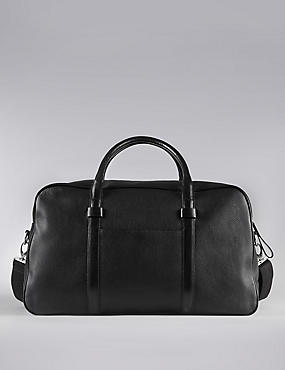 Luxury Leather Holdall