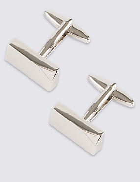 Dented Corner Cufflinks