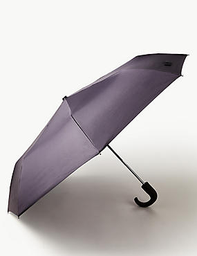 City Umbrella with Stormwear™ and Windtech™, NAVY, catlanding