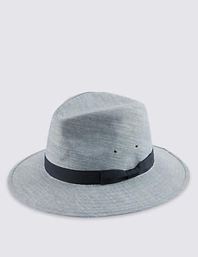 Pure Cotton Chambray Ambassador Hat