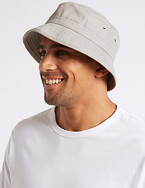 Pure Cotton Twill Fisherman Hat