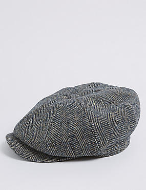 Pure Wool Herringbone Thinsulate™ Hat