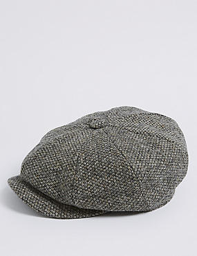 Pure Wool Baker Boy Hat with Thinsulate™