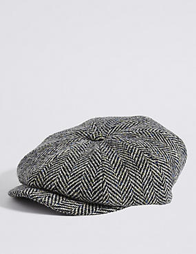 Pure Wool Baker Boy Hat