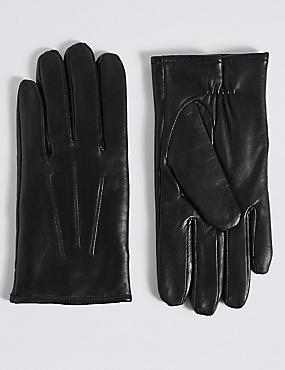 Touchscreen Leather Gloves with Thinsulate™